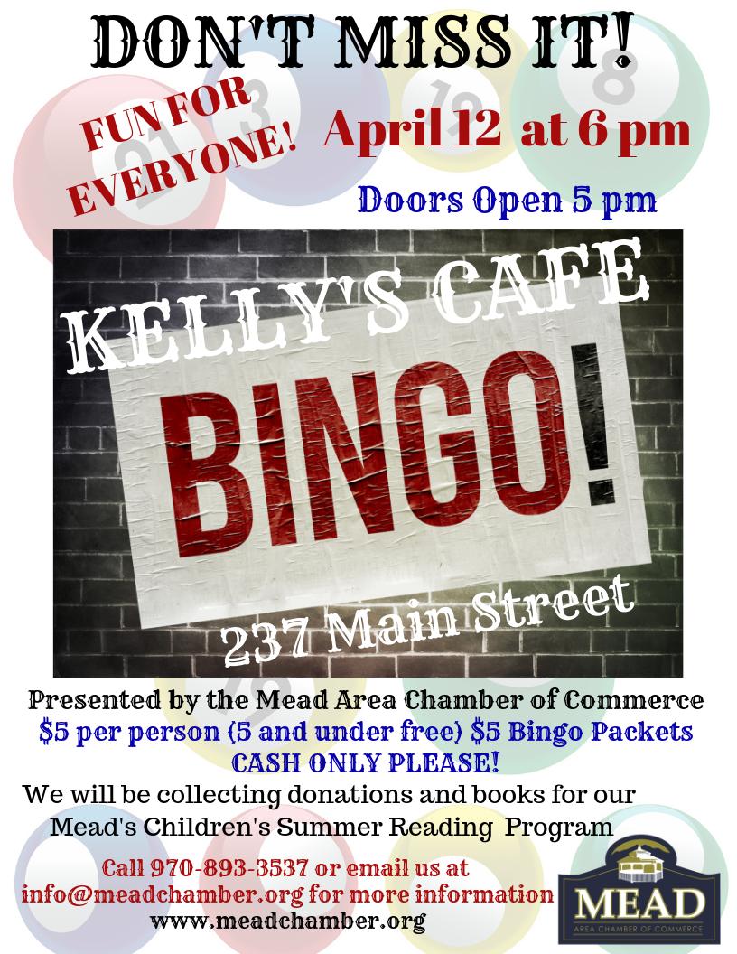 Kelly's Cafe Bingo