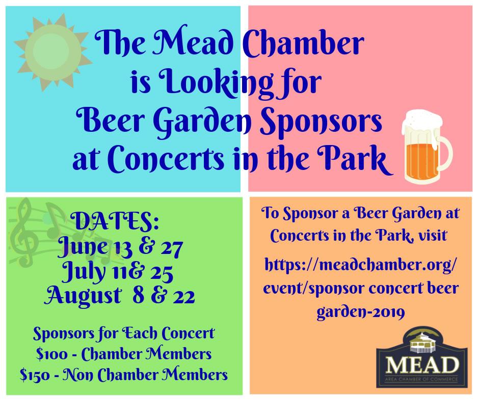 Beer Garden Sponsors