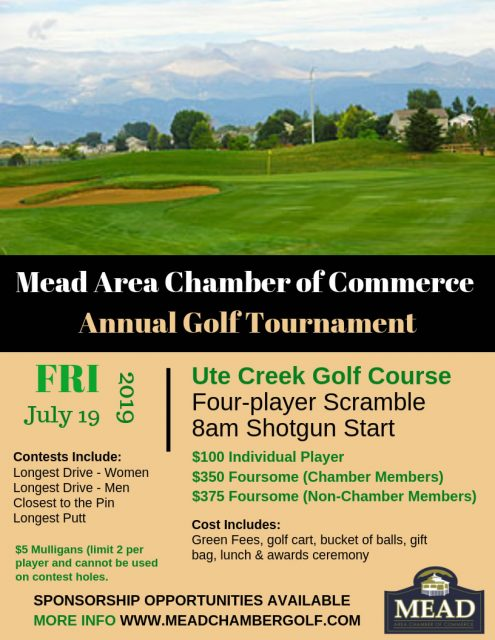 MACC 2019 Golf Tournament Flyer