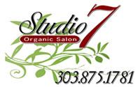 Studio 7 Organic Salon logo